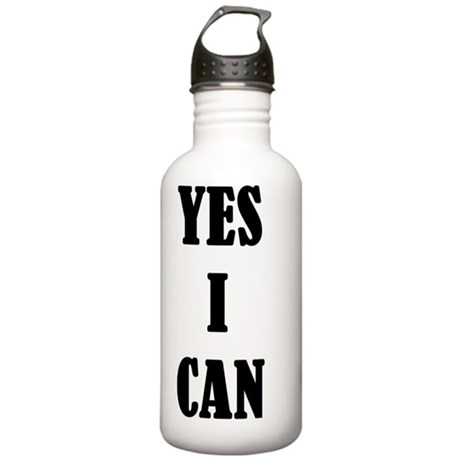 YES I CAN Stainless Water Bottle 1.0L