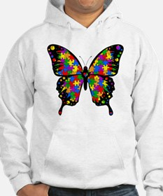 autismbutterfly-transp Hoodie