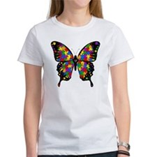 autismbutterfly-transp Tee