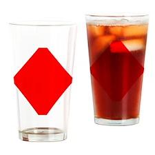 poker_diamonds Drinking Glass