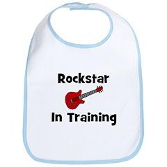 Rockstar In Training Bib