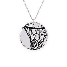 basketball_basket Necklace