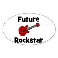 Future Rockstar Oval Decal