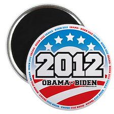 Obama-2012-Circle-2 Magnet