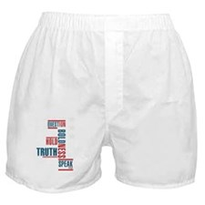 Speak Without Fear Boxer Shorts