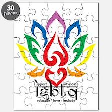 LGBTQ-Lotus-Flower Puzzle