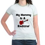 My Mommy Is A Rockstar Jr. Ringer T-Shirt