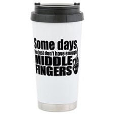 Middle Fingers Thermos Mug