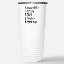 Repeat Steps Travel Mug