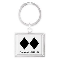 experts-only-front Landscape Keychain