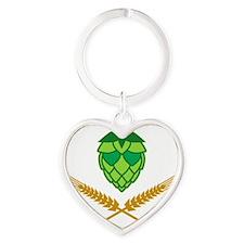w3 Heart Keychain