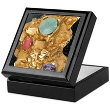Jeweled_Gold_Nugget_78_iPad_Black_Sta Keepsake Box