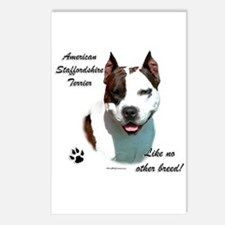 Am Staff Breed Postcards (Package of 8)