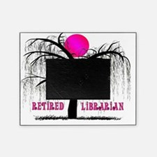 Retired Librarian Weeping Willow Picture Frame