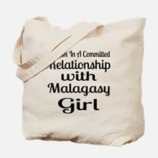 I Am In Relationship With Malagasy Girl Tote Bag
