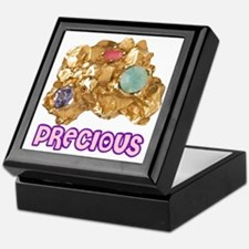 PRECIOUS_Jeweled_Gold_Nugget_12B12 Keepsake Box