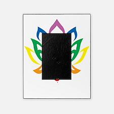 LGBTQ-Lotus-Flower-blk Picture Frame