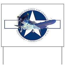 Corsair Pacific Star Yard Sign