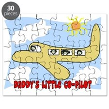 Daddys little copilot Yellow Puzzle