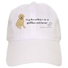 GoldenRetFullBodyBrother Baseball Cap