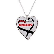 wear black for my dad Tee Necklace