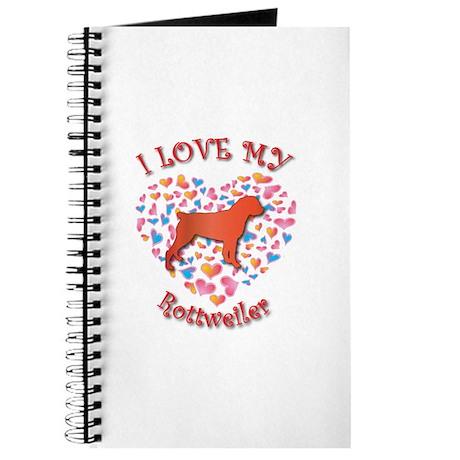 Love Rottweiler Journal