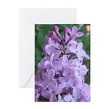 LilacPost Greeting Card