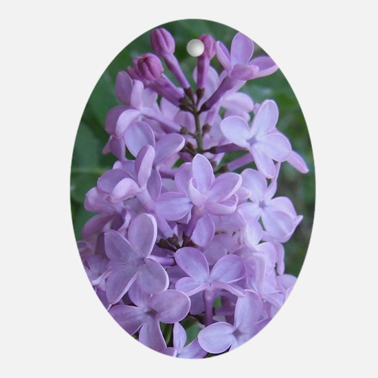 LilacPost Oval Ornament