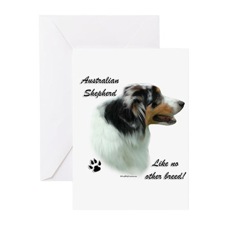 Aussie Breed Greeting Cards (Pk of 10)