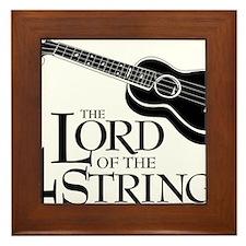 Lord of the 4 Strings Ukulele Framed Tile