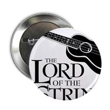 "Lord of the 4 Strings Ukulele 2.25"" Button"