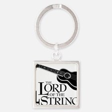 Lord of the 4 Strings Ukulele Square Keychain