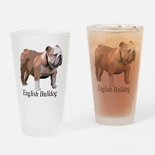 English Bulldog for Cafe Press copy Drinking Glass