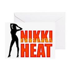 Nikki Heat Hat Greeting Card