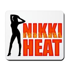 Nikki Heat Hat Mousepad