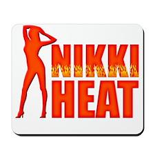Nikki Heat Blk Mousepad