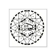 "stonehenge_logo_clear Square Sticker 3"" x 3"""