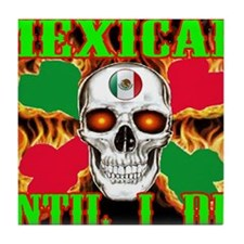 mexican die 2 Tile Coaster