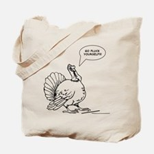 Turkey Christmas Tote Bag