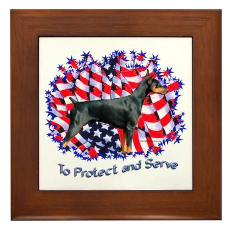 Dobie Protect Framed Tile