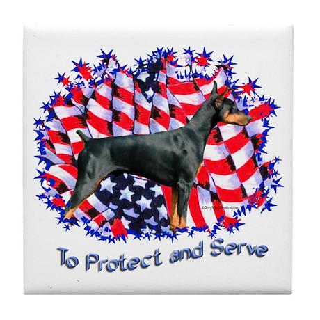 Dobie Protect Tile Coaster