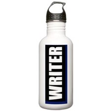 Writer Journal Water Bottle