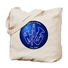 Loper Low Brass Blue Circle Tote Bag