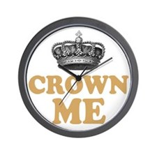 Crown Me 2 Wall Clock