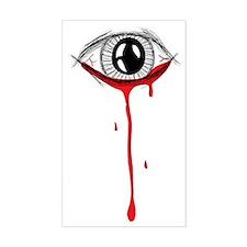 bleeding eye Decal