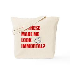 Fangs Blk Tote Bag