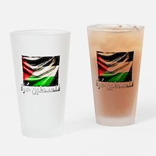 free-palestine-grunge Drinking Glass