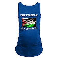 free-palestine-grunge Maternity Tank Top