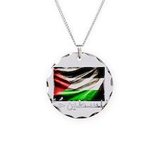 free-palestine-grunge Necklace