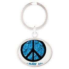 Oncology Nurse Oval Keychain